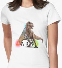 Ark T-rex Women's Fitted T-Shirt