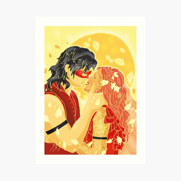 Jesse y Cerie Lámina artística