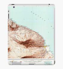 USGS TOPO Map Hawaii HI Hawaii North 349921 1961 250000 iPad Case/Skin