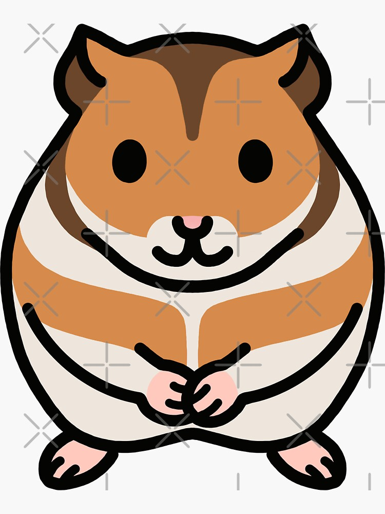 Golden Hamster by littlemandyart
