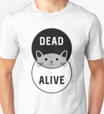 Schrödingers Katze: Tot oder lebendig! Slim Fit T-Shirt