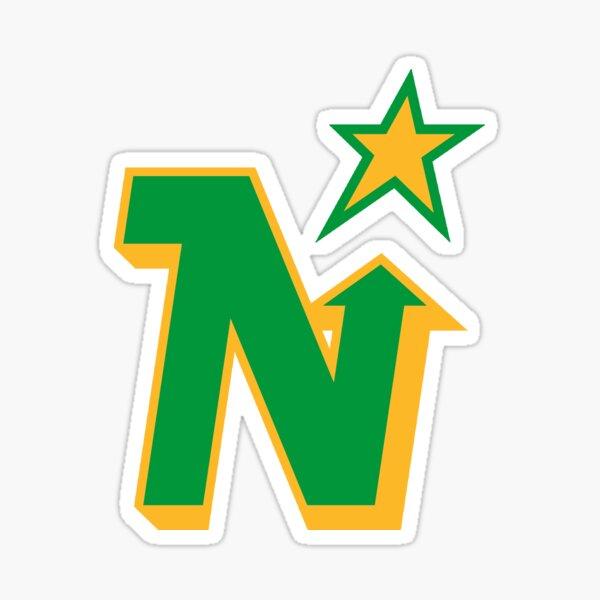 Minnesota North Stars Vintage Logo Sticker