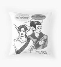 Phoenix&Razer Throwing Shade Throw Pillow