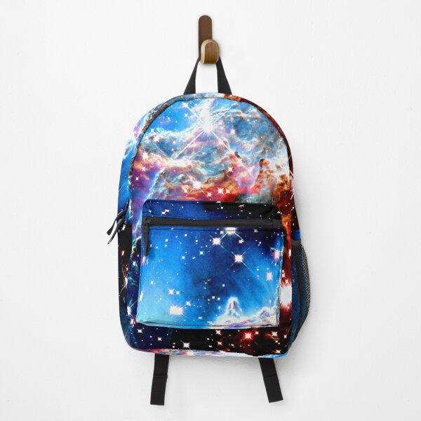 Galactic Nebula Altar of the Sacred Monkey  Backpack