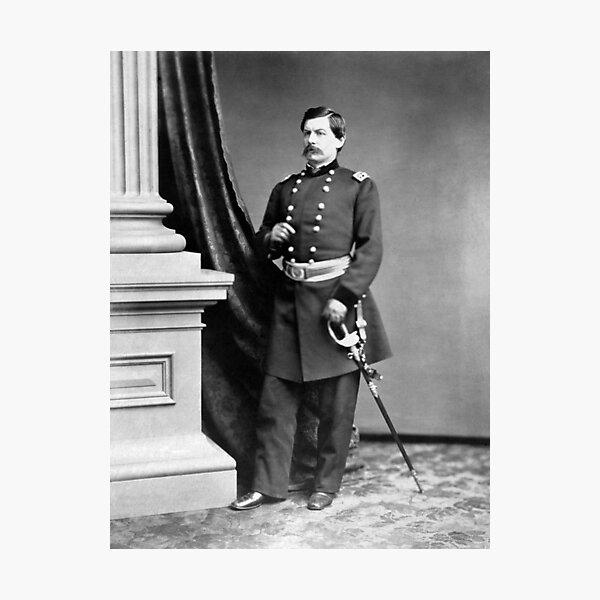 General George McClellan Standing Portrait - Civil War Circa 1862 Photographic Print