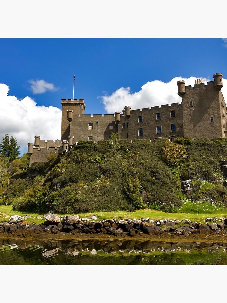 Dunvegan Castle Isle of Skye by derekbeattie