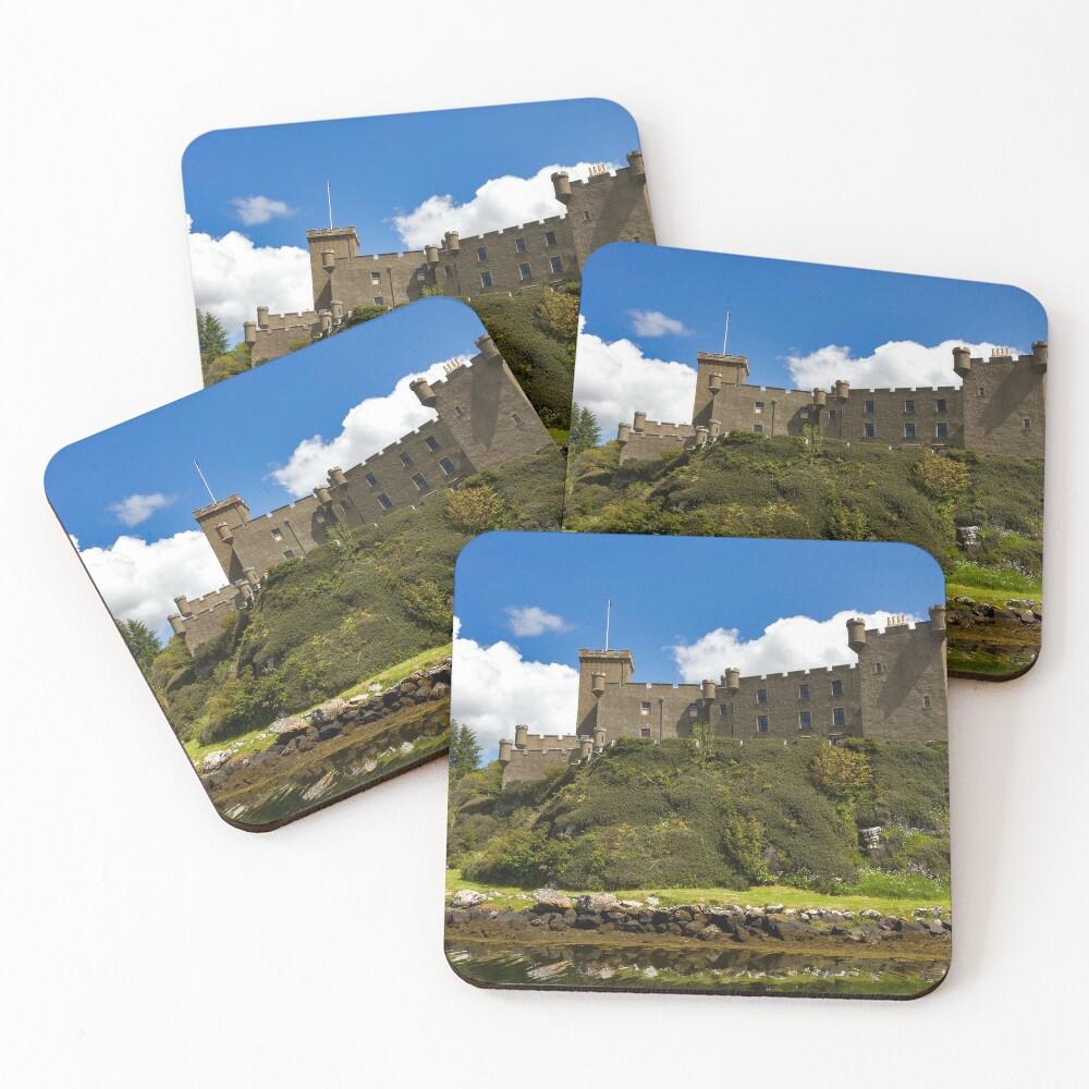 Dunvegan Castle Isle of Skye Coasters (Set of 4)