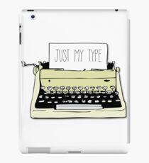 Typewriter iPad Case/Skin