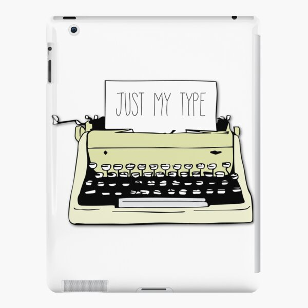 Typewriter iPad Snap Case