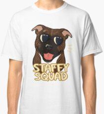 STAFFY SQUAD (brindle) Classic T-Shirt