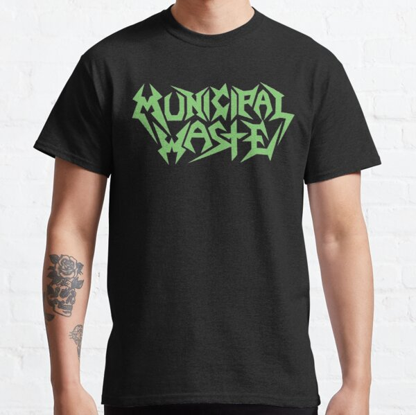 municipal waste - green Classic T-Shirt