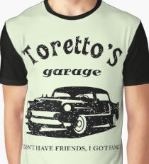 Toretto's Garage Car Graphic T-Shirt