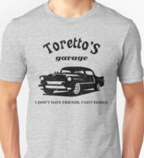 Toretto's Garage Car T-Shirt