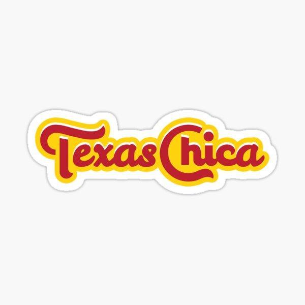 Texas Chica Sticker