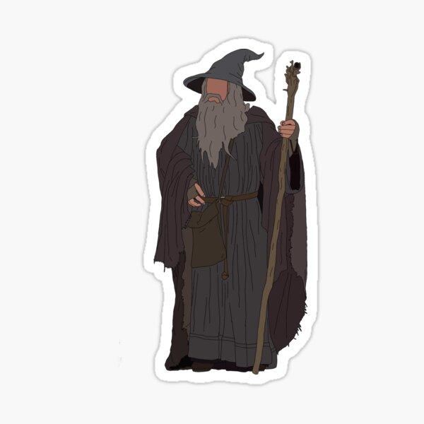 The grey Sticker
