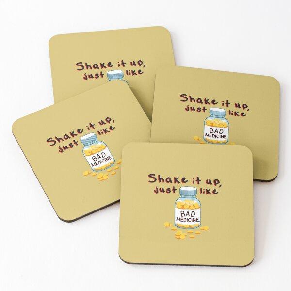 Shake It Up, Bad Medicine - Bon Jovi Design Coasters (Set of 4)