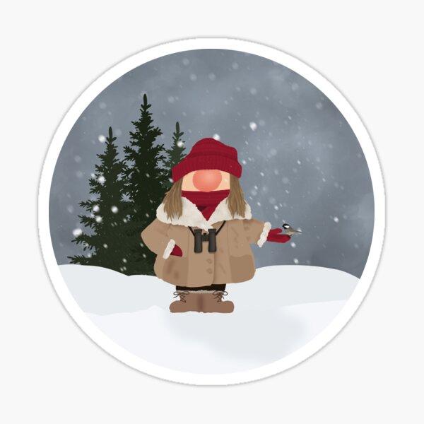Heather Nosy - Winter Sticker