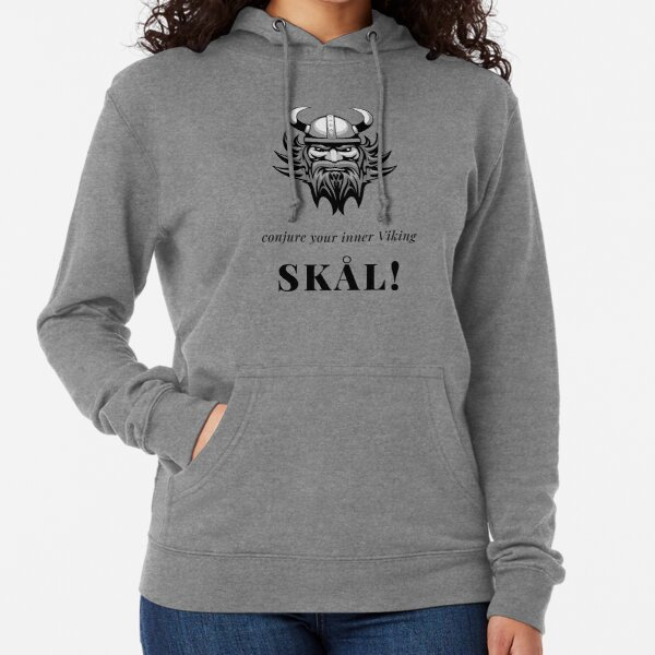 Conjure Your Inner Viking - Skål! Lightweight Hoodie