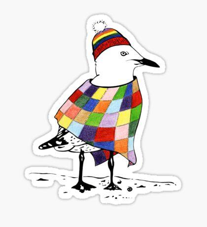 Chilli the Seagull Sticker