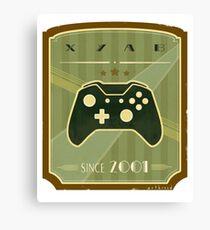 Retro Xbox One Controller Canvas Print