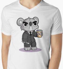 Grumpy Koala Men's V-Neck T-Shirt