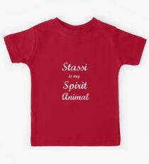 Stassi is my Spirit Animal.  Kids Tee