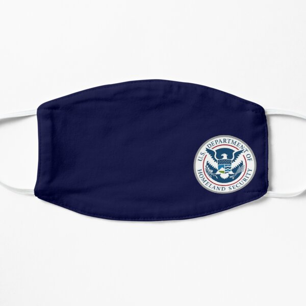 U.S. DEPARTMENT OF HOMELAND SECURITY SEAL US UNITED STATES DHS Flat Mask