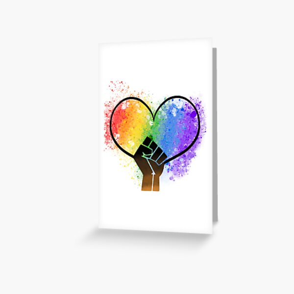 Power in Love Greeting Card