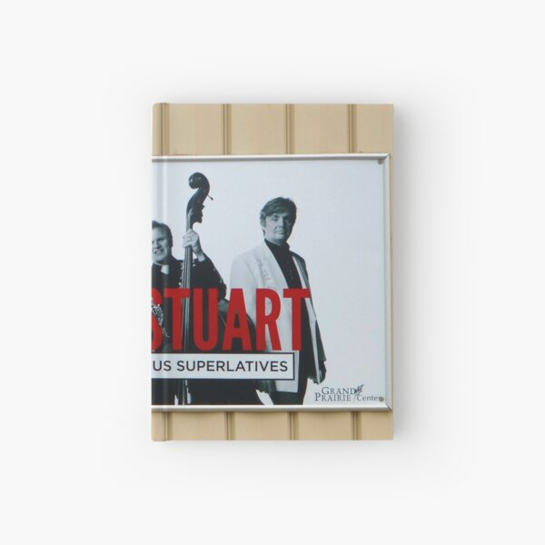 Marty Stuart Sign Hardcover Journal