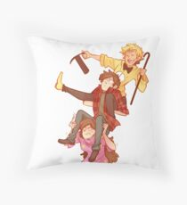 Tower of Trouble Throw Pillow