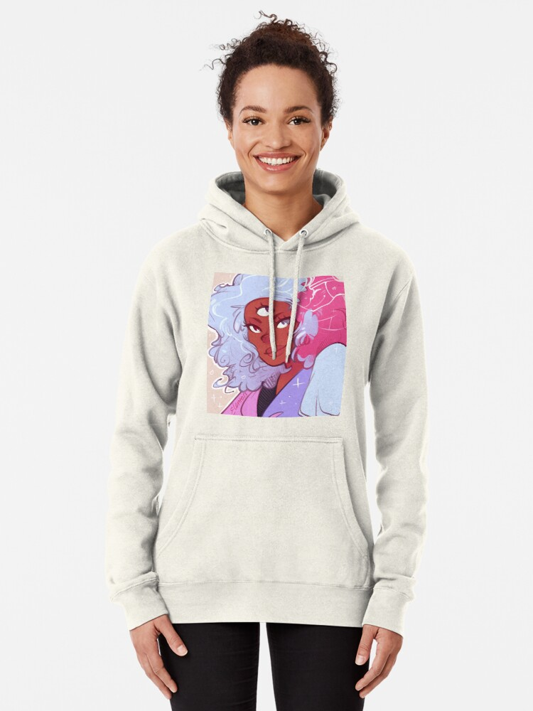 Alternate view of The Answer is Love Pullover Hoodie