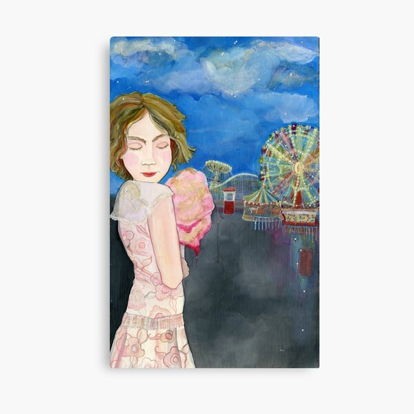 Viki Leaving the Carnival Canvas Print