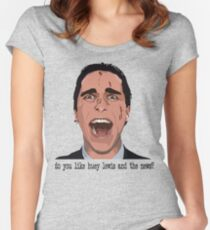 An American Psycho Women's Fitted Scoop T-Shirt