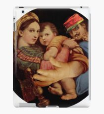 Madonna with Chair. iPad Case/Skin
