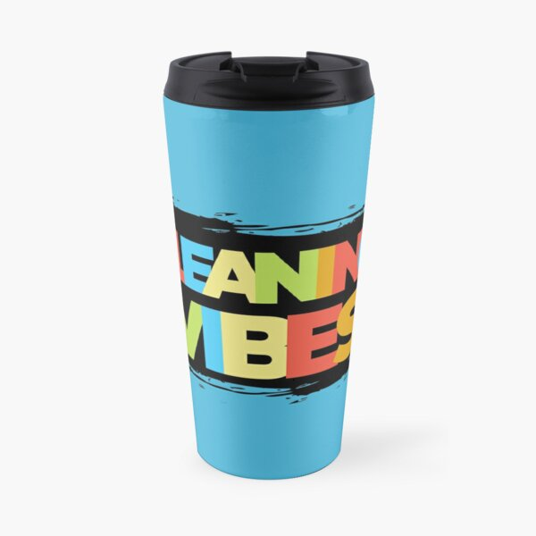 Cleaning Vibes Funny Cleaning Shirt Cleaning Lady Gift Travel Mug