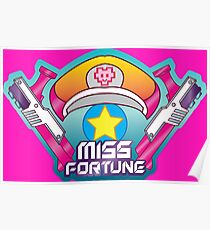 Miss Fortune Arcade Poster