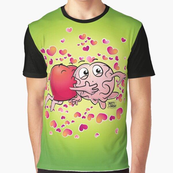 San Valentin-J&B VERDE Camiseta gráfica