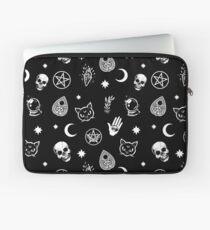 Witch Pattern Laptop Sleeve