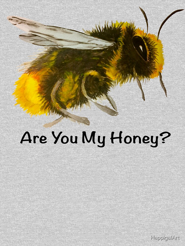 Are You My Honey? (Bee) by HappigalArt