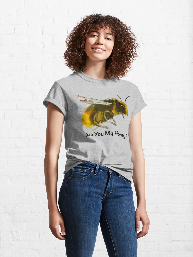 Alternate view of Are You My Honey? (Bee) Classic T-Shirt