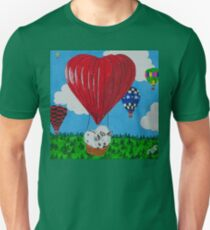 Bunny Anytime Valentines-Design One Unisex T-Shirt