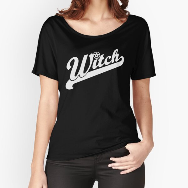 WITCH sport lettering Relaxed Fit T-Shirt
