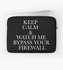 keep calm/firewall Laptop Sleeve