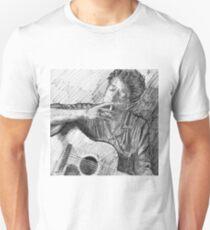 PORTRAIT OF BOB DYLAN Unisex T-Shirt