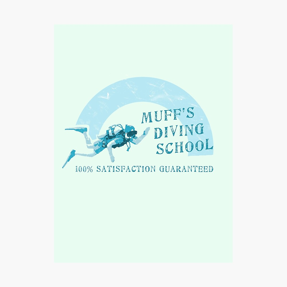 Muff's Diving School Photographic Print
