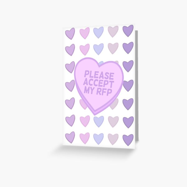 RFP valentine Greeting Card