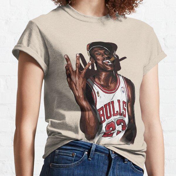 Vintage Michael Jordan Three Peat T-Shirt Classic T-Shirt