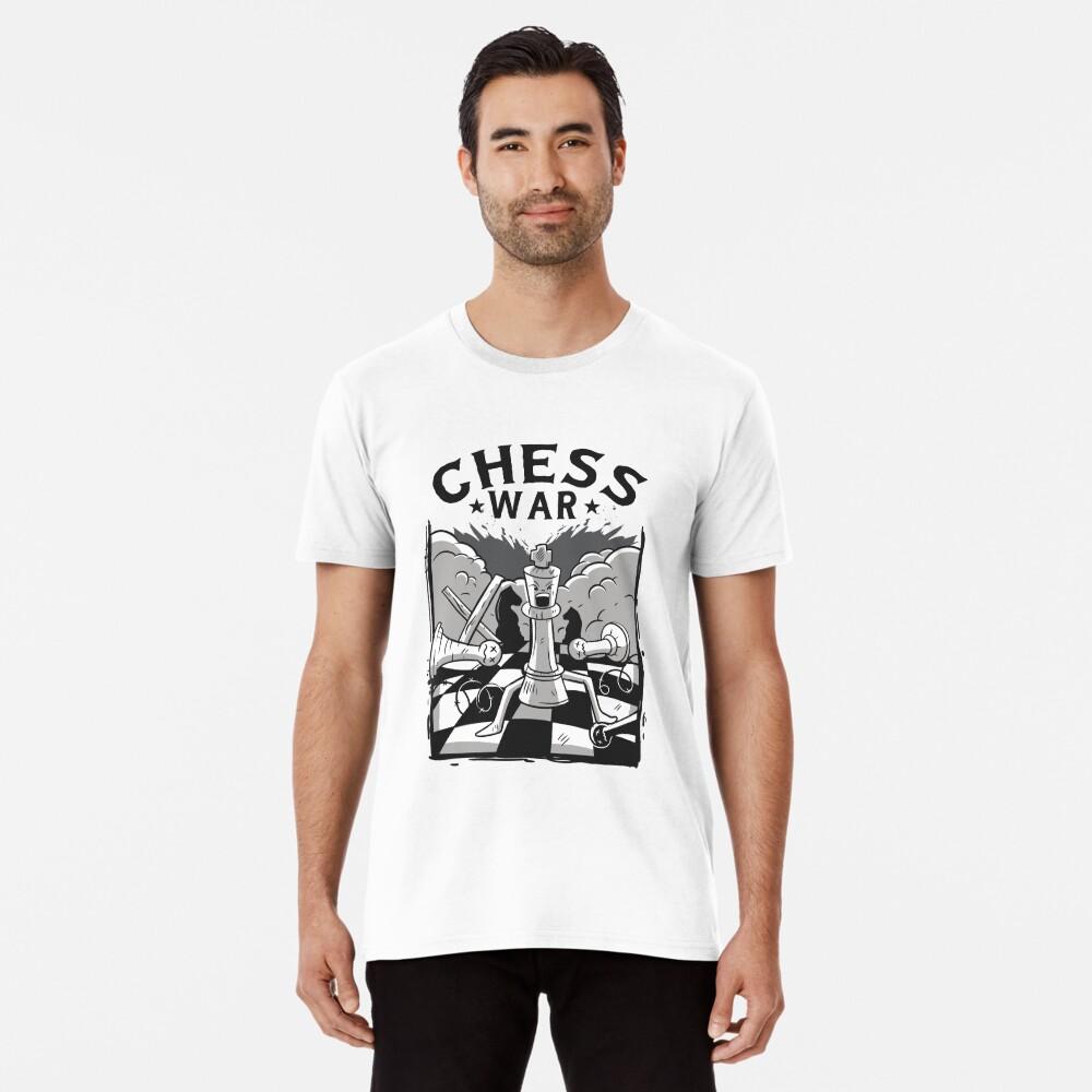 Chess funny chess war design Premium T-Shirt
