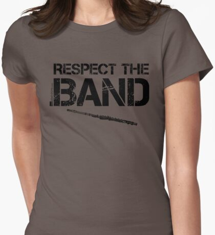 Respect The Band - Flute (Black Lettering) T-Shirt