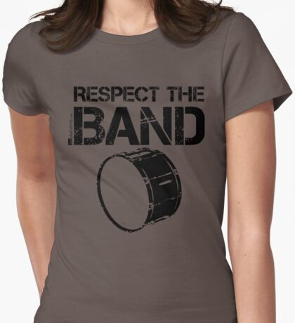 Respect The Band - Bass Drum (Black Lettering) T-Shirt
